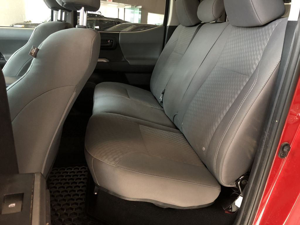 Red 2020 Toyota Tacoma 4WD Double Cab SR5 Central Dash Options Photo in Edmonton AB