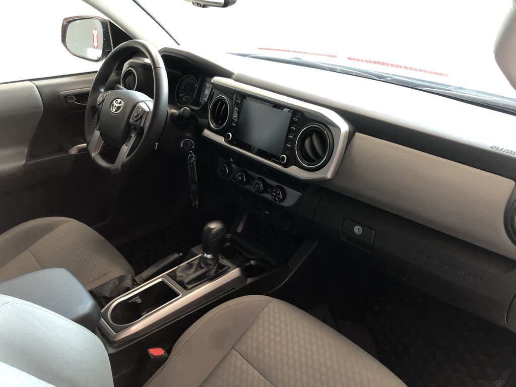 Red 2020 Toyota Tacoma 4WD Double Cab SR5 Steering Wheel/Instruments Photo in Edmonton AB