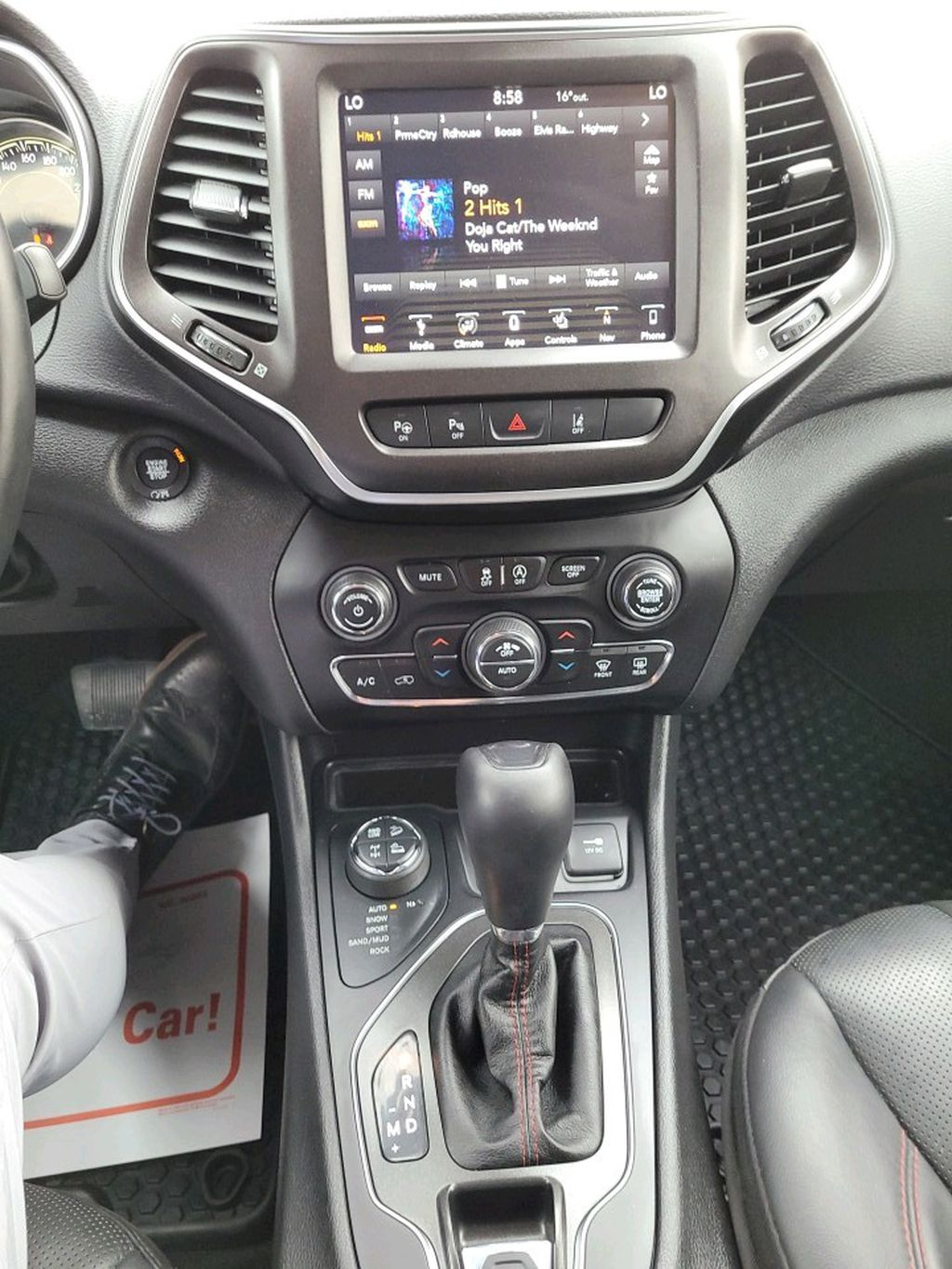 Blue 2019 Jeep Cherokee Left Front Head Light / Bumper and Grill in Fort Macleod AB