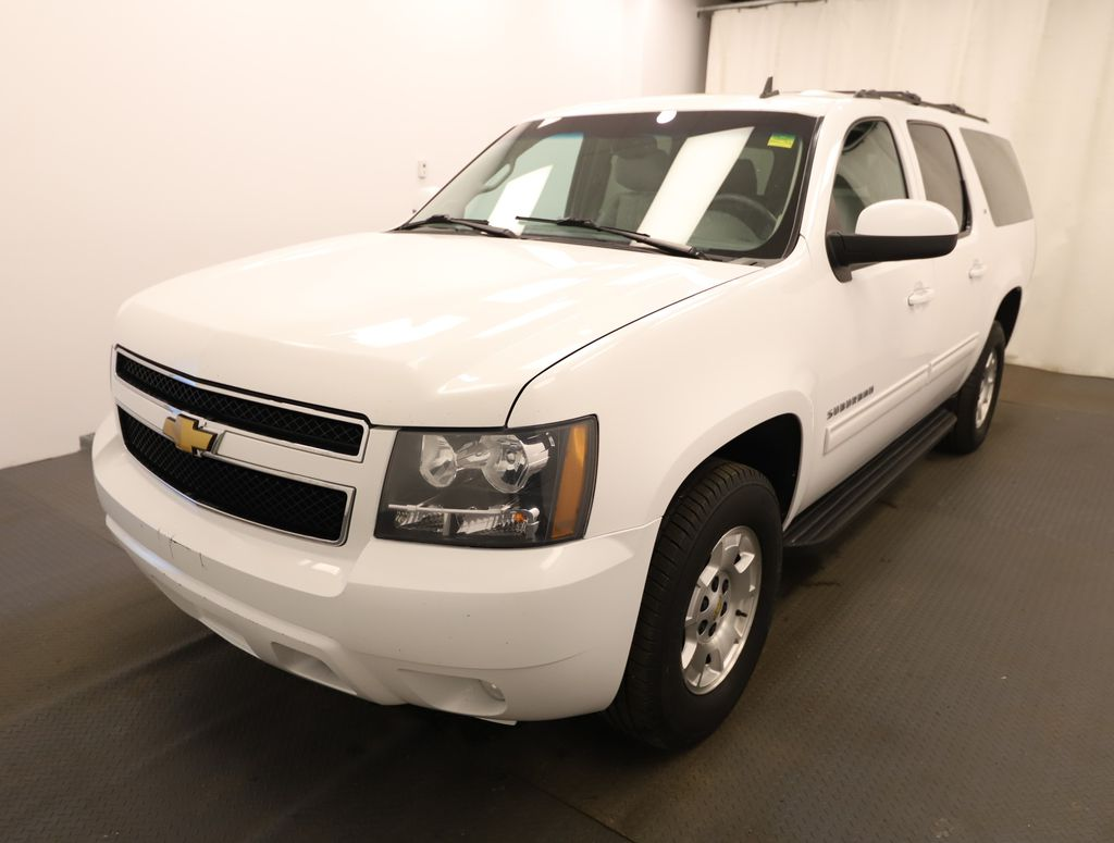 White 2012 Chevrolet Suburban Left Front Head Light / Bumper and Grill in Lethbridge AB