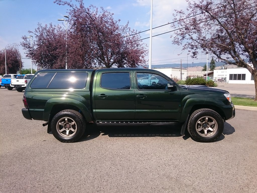 Green[Spruce Mica] 2013 Toyota Tacoma Right Side Photo in Kelowna BC