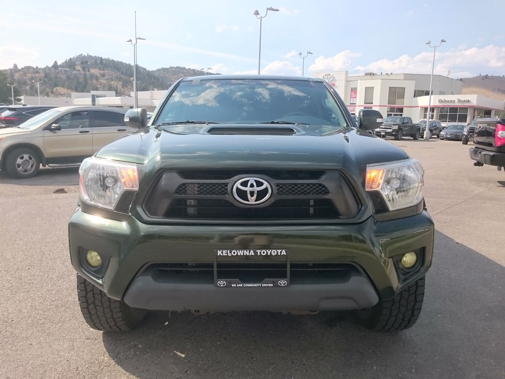 Green[Spruce Mica] 2013 Toyota Tacoma Front Vehicle Photo in Kelowna BC