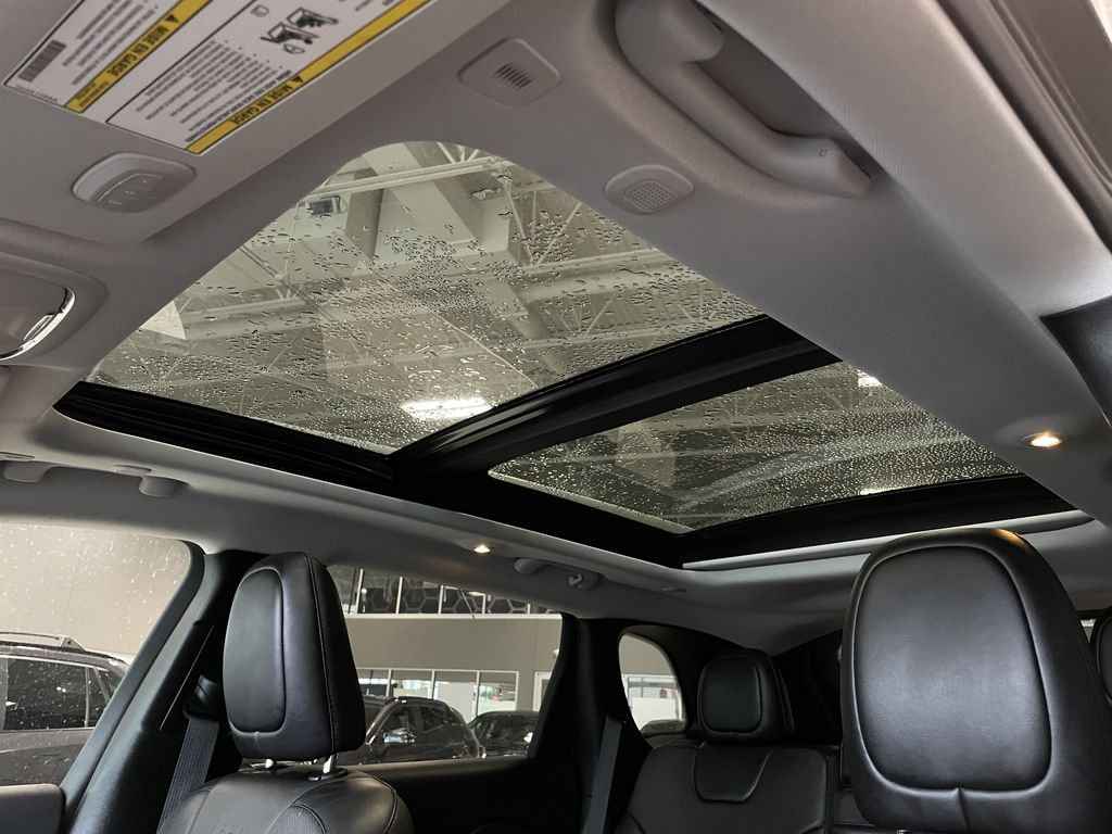 Black 2019 Jeep Cherokee Limited Right Side Front Seat  Photo in Edmonton AB