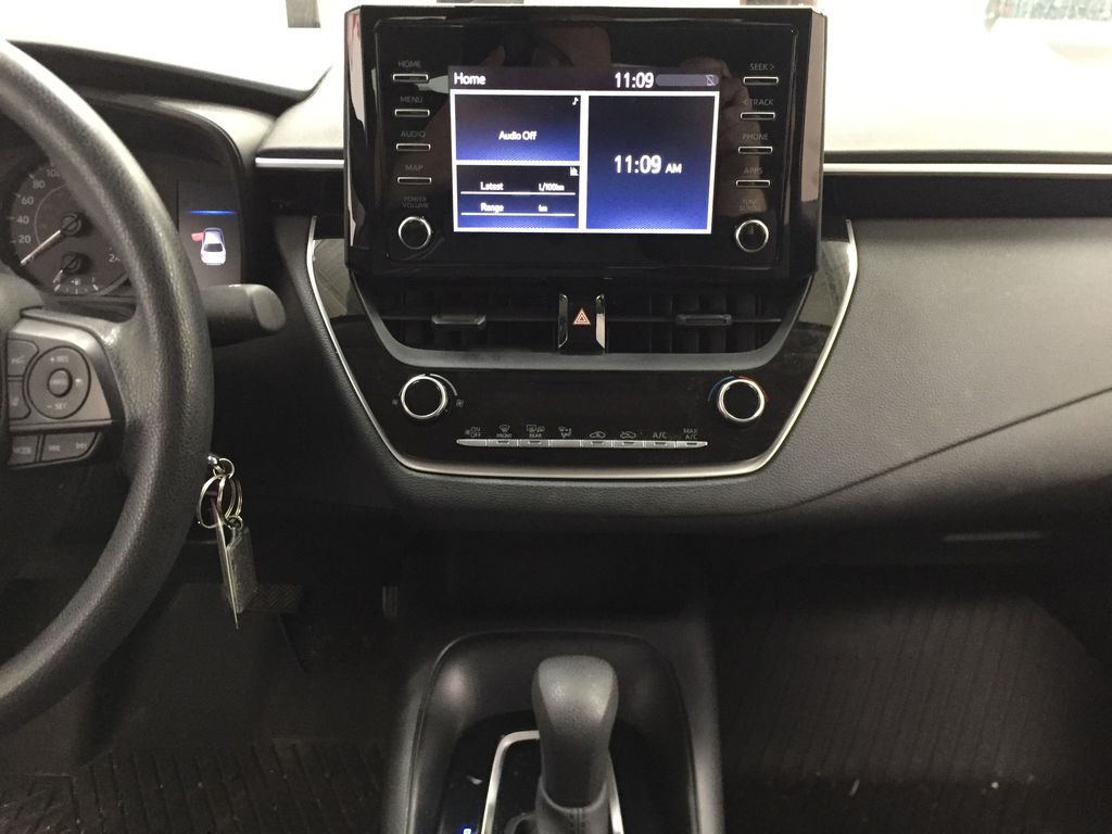 CELESTIAL GREY 2020 Toyota Corolla L Central Dash Options Photo in Sherwood Park AB