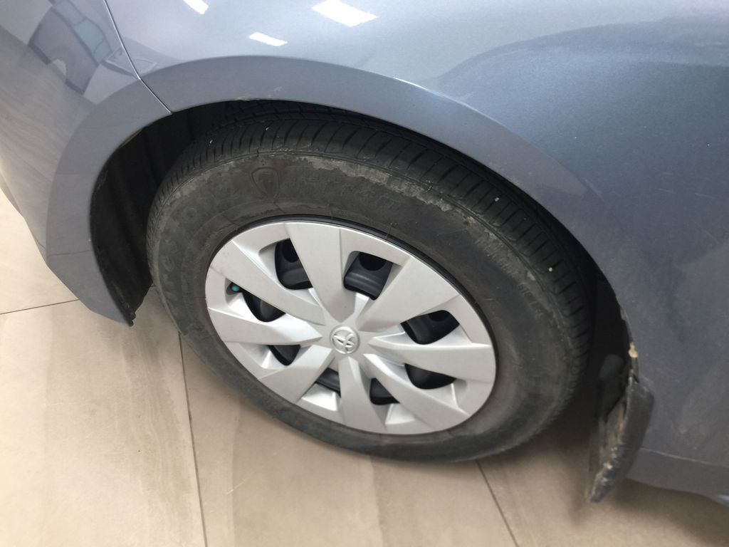 CELESTIAL GREY 2020 Toyota Corolla L Left Front Rim and Tire Photo in Sherwood Park AB