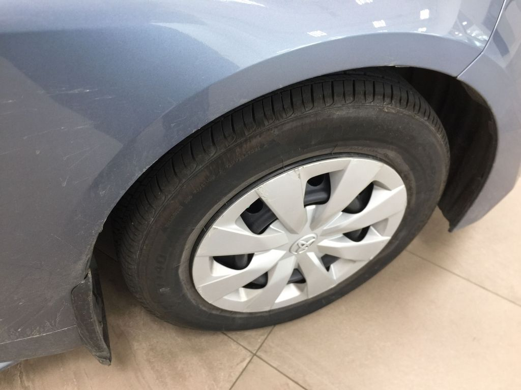 CELESTIAL GREY 2020 Toyota Corolla L Right Front Rim and Tire Photo in Sherwood Park AB