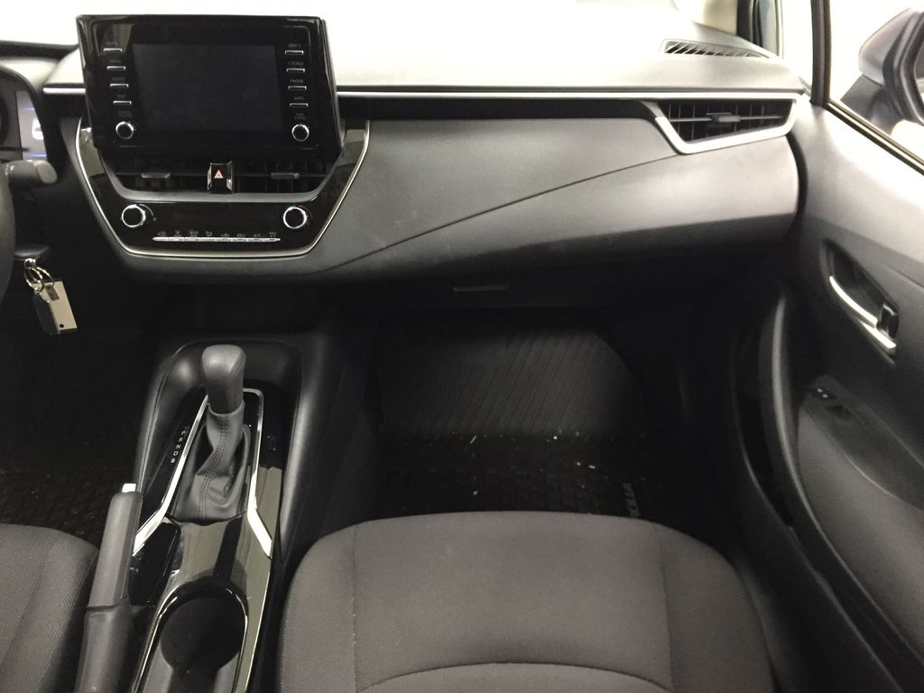 CELESTIAL GREY 2020 Toyota Corolla L Right Front Seat Photo in Sherwood Park AB