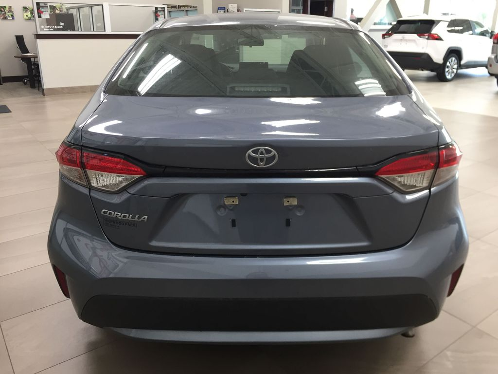 CELESTIAL GREY 2020 Toyota Corolla L Rear of Vehicle Photo in Sherwood Park AB