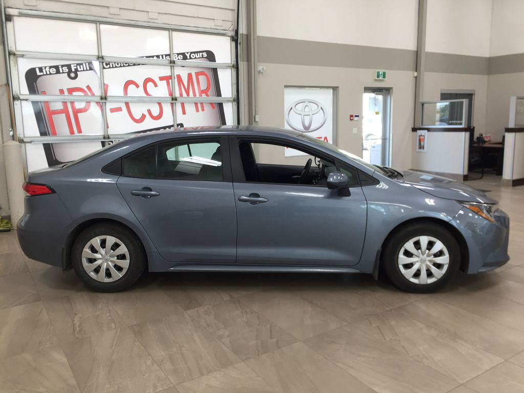 CELESTIAL GREY 2020 Toyota Corolla L Right Side Photo in Sherwood Park AB