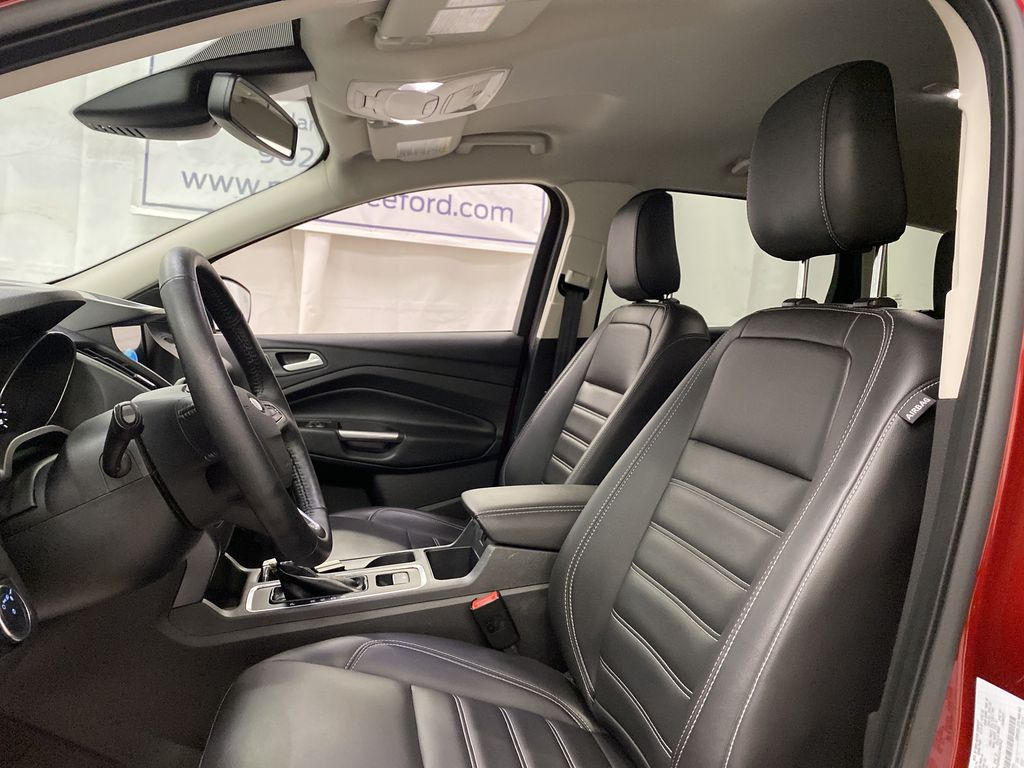 Red[Ruby Red Metallic Tinted Clearcoat] 2019 Ford Escape Left Front Interior Photo in Dartmouth NS