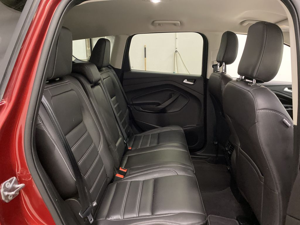 Red[Ruby Red Metallic Tinted Clearcoat] 2019 Ford Escape Right Side Rear Seat  Photo in Dartmouth NS