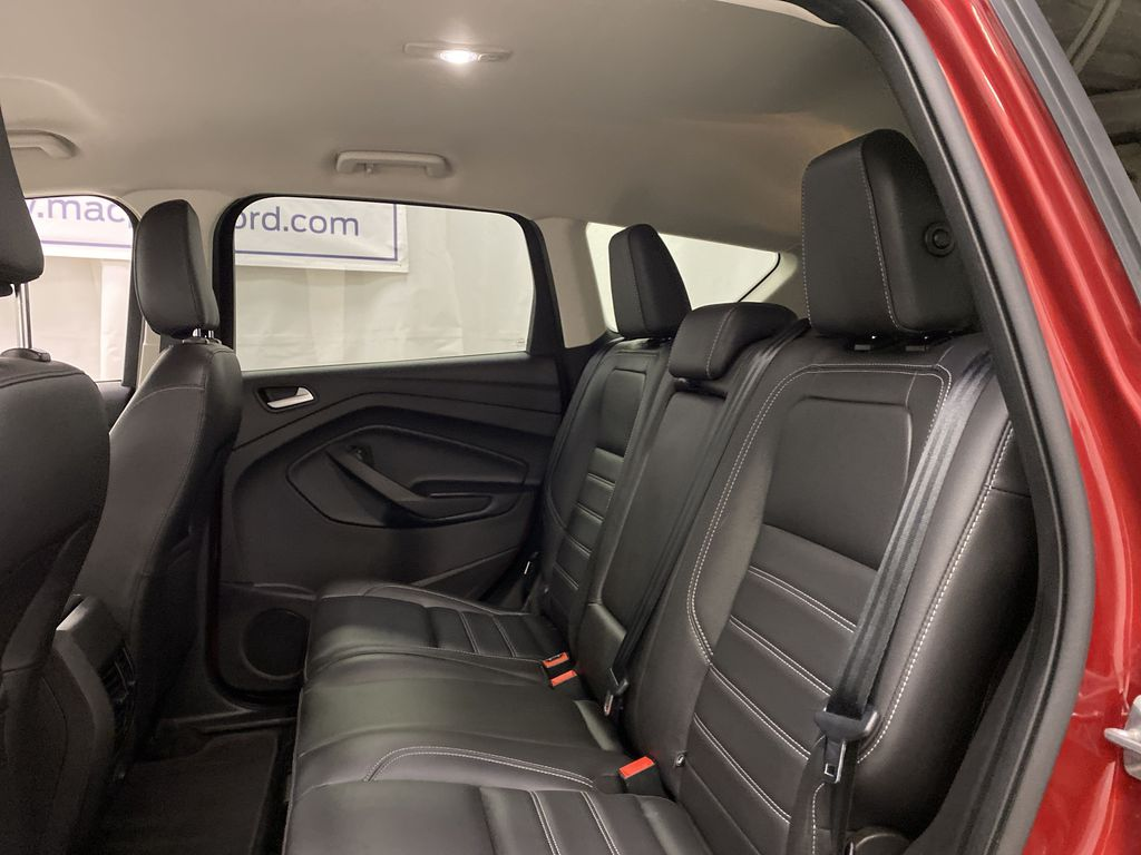 Red[Ruby Red Metallic Tinted Clearcoat] 2019 Ford Escape Left Side Rear Seat  Photo in Dartmouth NS