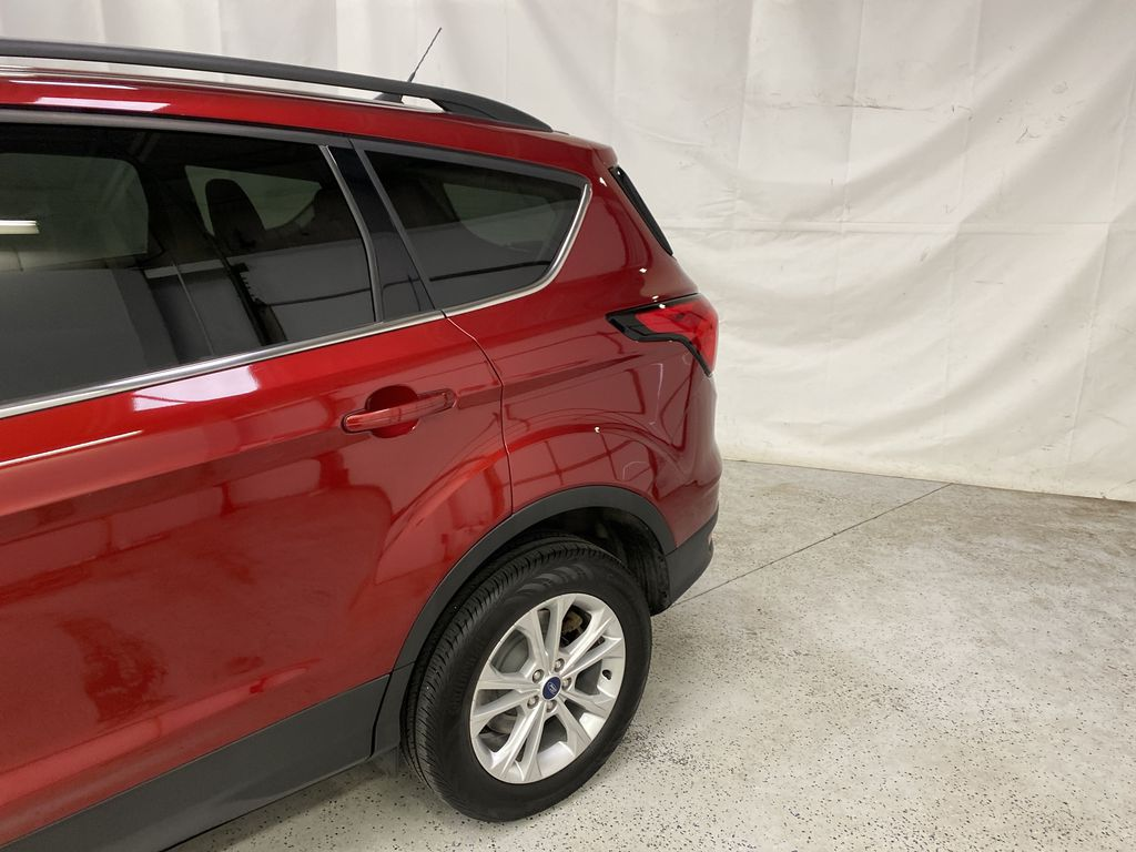 Red[Ruby Red Metallic Tinted Clearcoat] 2019 Ford Escape Left Rear Corner Photo in Dartmouth NS