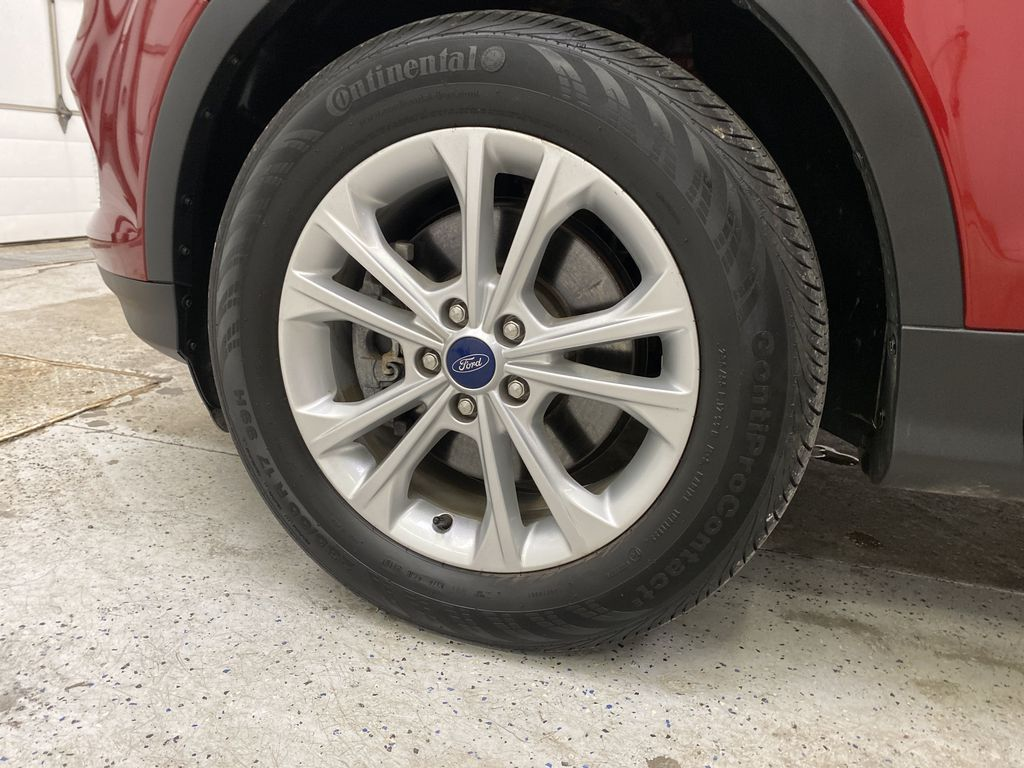 Red[Ruby Red Metallic Tinted Clearcoat] 2019 Ford Escape Left Front Rim and Tire Photo in Dartmouth NS
