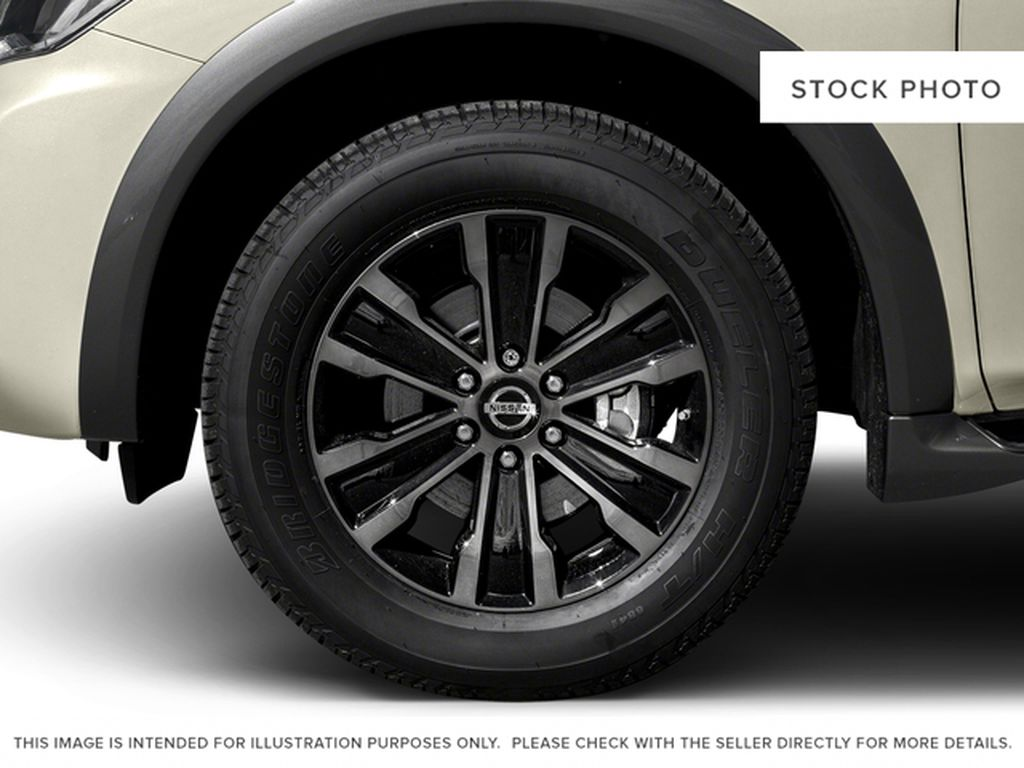 Black[Super Black] 2017 Nissan Armada Left Front Rim and Tire Photo in Fort Macleod AB