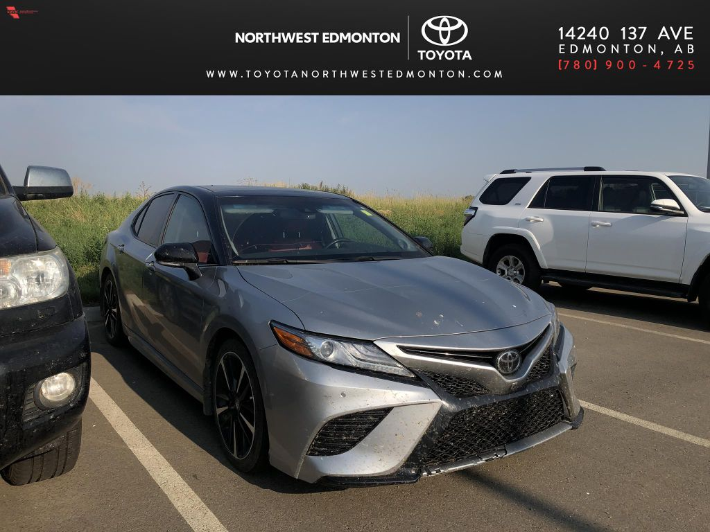 Silver 2018 Toyota Camry XSE