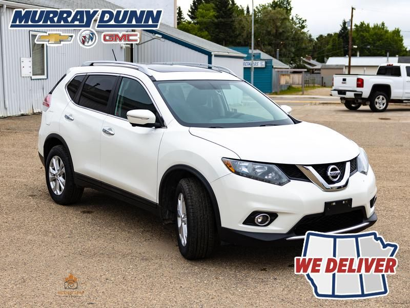 2014 Nissan Rogue Right Front Corner Photo in Nipawin SK