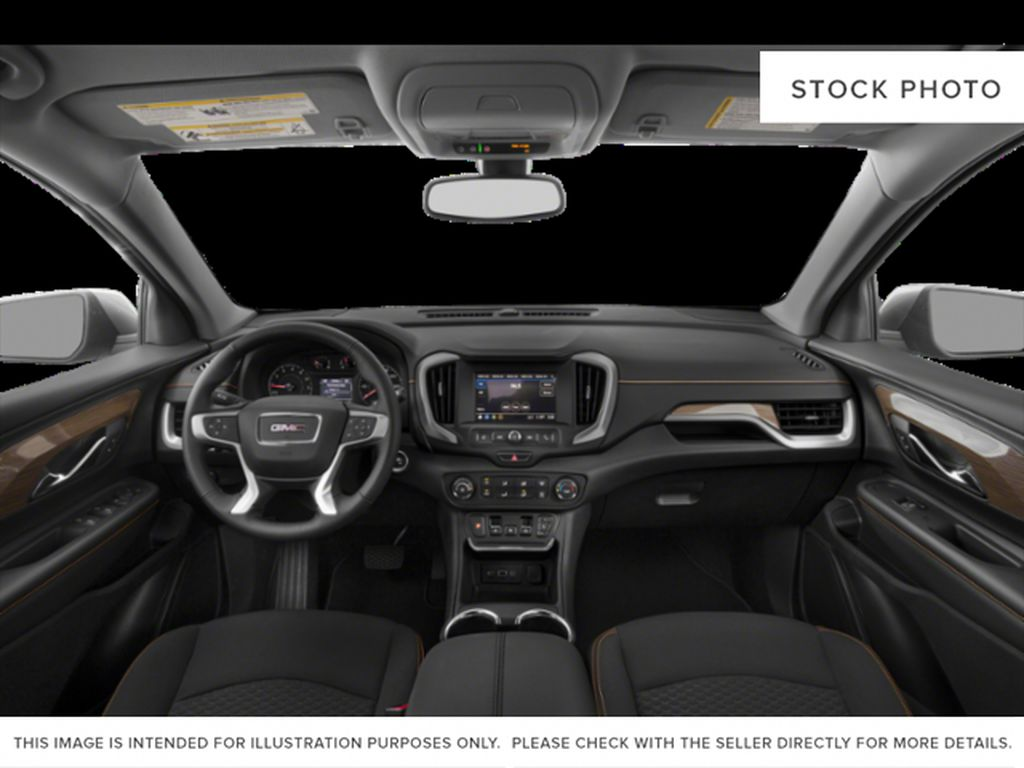 White[Summit White] 2021 GMC Terrain SLE Central Dash Options Photo in Canmore AB