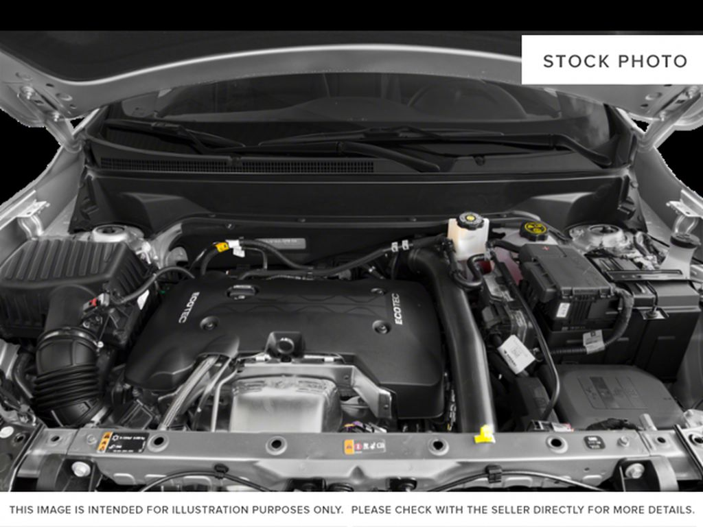 White[Summit White] 2021 GMC Terrain SLE Engine Compartment Photo in Canmore AB