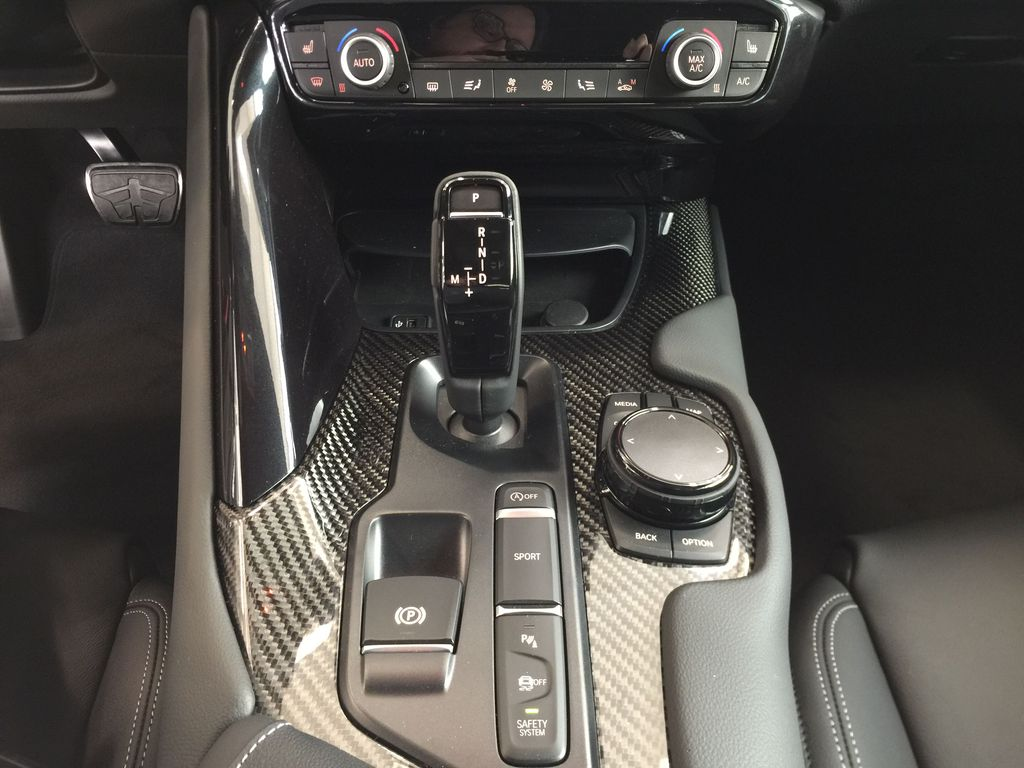 Red[Renaissance Red 2.0] 2021 Toyota GR Supra Lower Dash Photo in Sherwood Park AB