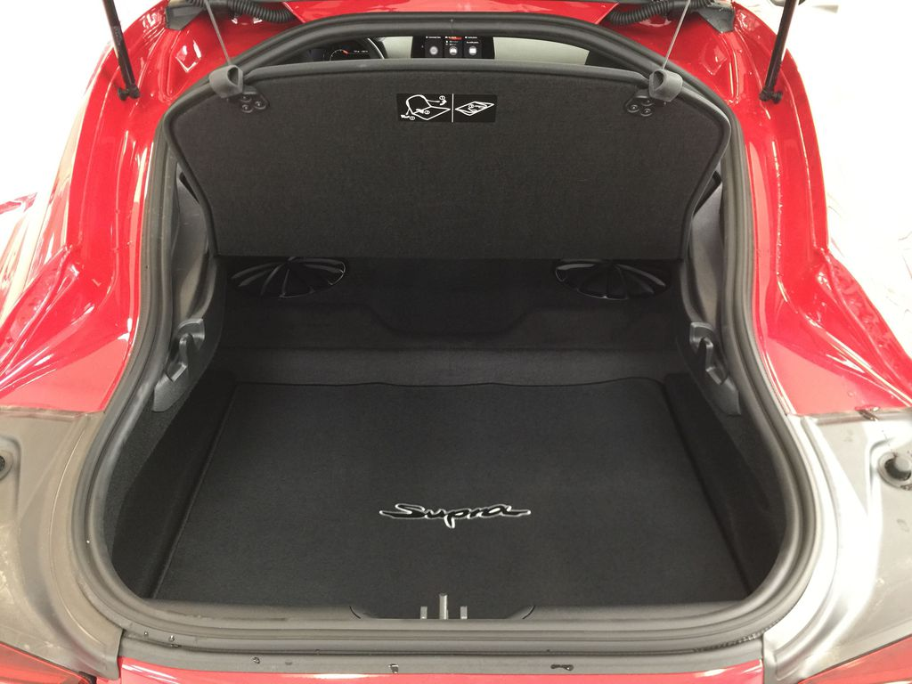 Red[Renaissance Red 2.0] 2021 Toyota GR Supra Cargo Area/Rear Seats Photo in Sherwood Park AB