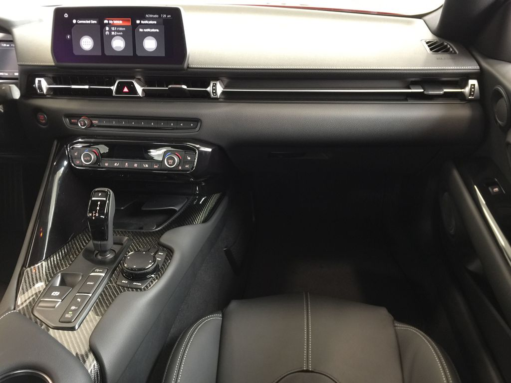 Red[Renaissance Red 2.0] 2021 Toyota GR Supra Right Front Seat Photo in Sherwood Park AB