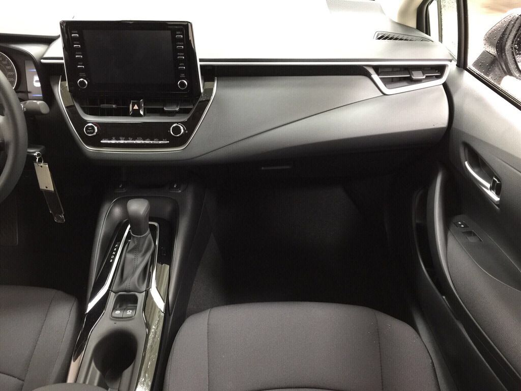 Silver[Classic Silver Metallic] 2021 Toyota Corolla LE Right Front Seat Photo in Sherwood Park AB