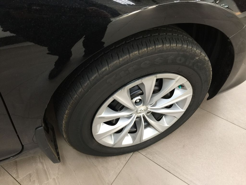 Black[Attitude Black Metallic] 2017 Toyota Camry LE / LOW KMS Right Front Rim and Tire Photo in Sherwood Park AB