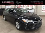 Black[Attitude Black Metallic] 2017 Toyota Camry LE / LOW KMS Primary Photo in Sherwood Park AB