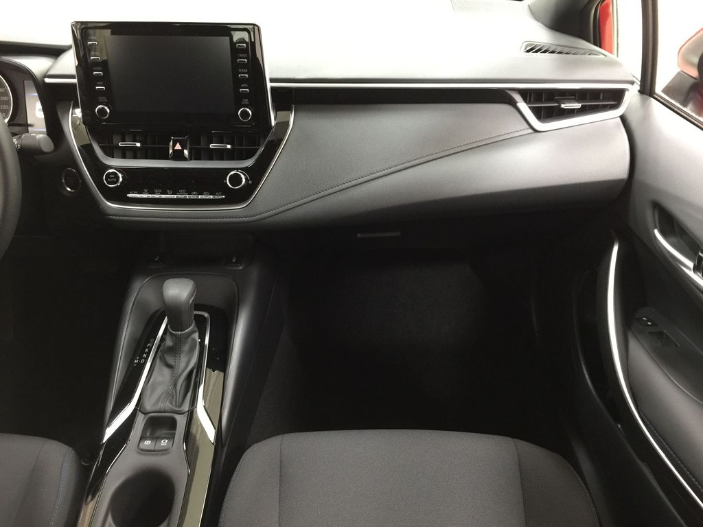 Red[Barcelona Red Metallic] 2021 Toyota Corolla SE Right Front Seat Photo in Sherwood Park AB