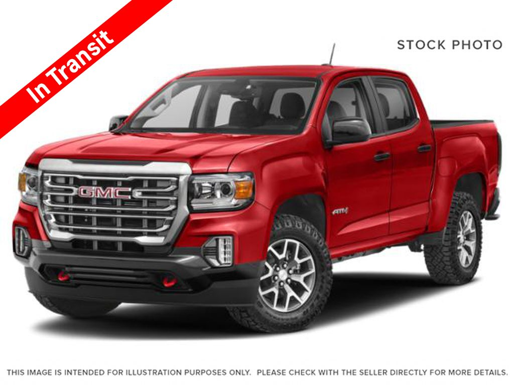 Red[Cayenne Red Tintcoat] 2021 GMC Canyon AT4