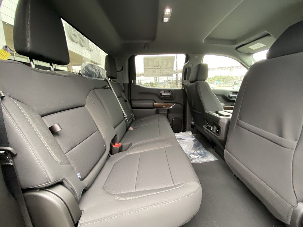 Blue[Northsky Blue Metallic] 2021 Chevrolet Silverado 1500 RST Right Side Rear Seat  Photo in Calgary AB