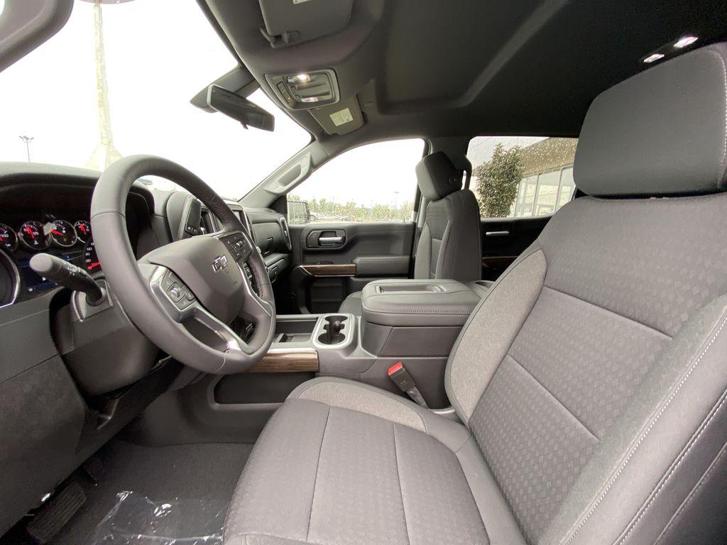 Blue[Northsky Blue Metallic] 2021 Chevrolet Silverado 1500 RST  Driver's Side Door Controls Photo in Calgary AB