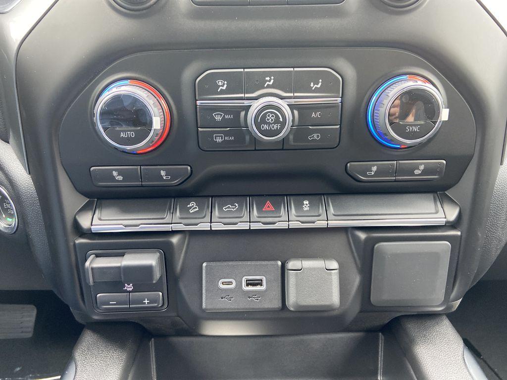 Blue[Northsky Blue Metallic] 2021 Chevrolet Silverado 1500 RST Central Dash Options Photo in Calgary AB