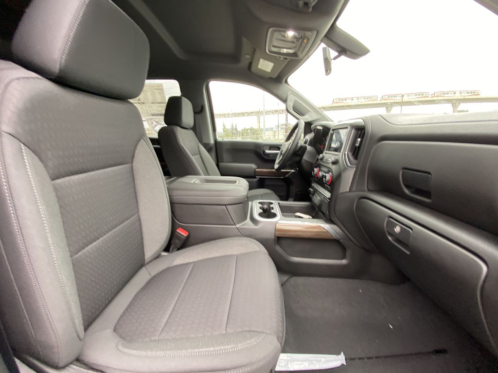 Blue[Northsky Blue Metallic] 2021 Chevrolet Silverado 1500 RST Right Side Front Seat  Photo in Calgary AB