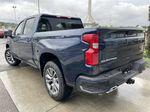 Blue[Northsky Blue Metallic] 2021 Chevrolet Silverado 1500 RST Left Rear Corner Photo in Calgary AB