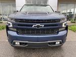 Blue[Northsky Blue Metallic] 2021 Chevrolet Silverado 1500 RST Front Vehicle Photo in Calgary AB