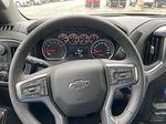 Blue[Northsky Blue Metallic] 2021 Chevrolet Silverado 1500 RST Steering Wheel and Dash Photo in Calgary AB