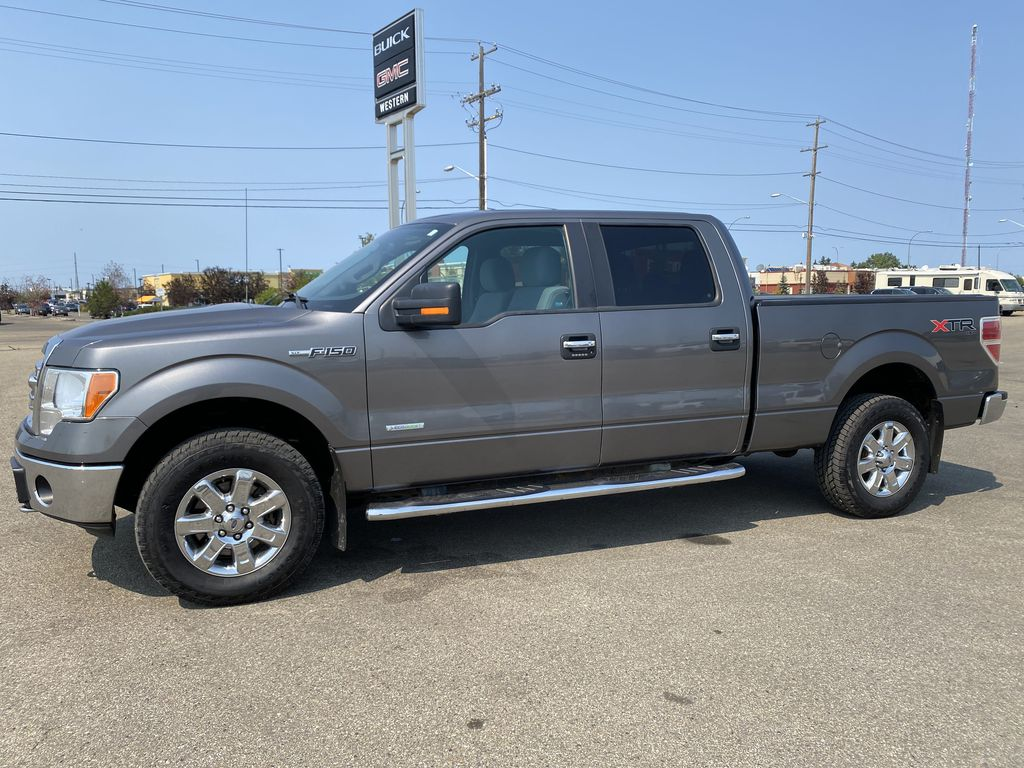 Gray[Sterling Grey Metallic] 2013 Ford F-150 Left Side Photo in Edmonton AB
