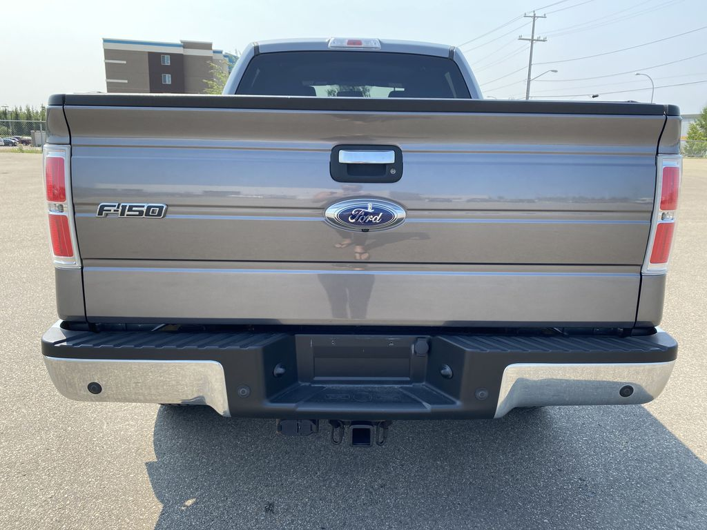 Gray[Sterling Grey Metallic] 2013 Ford F-150 Rear of Vehicle Photo in Edmonton AB