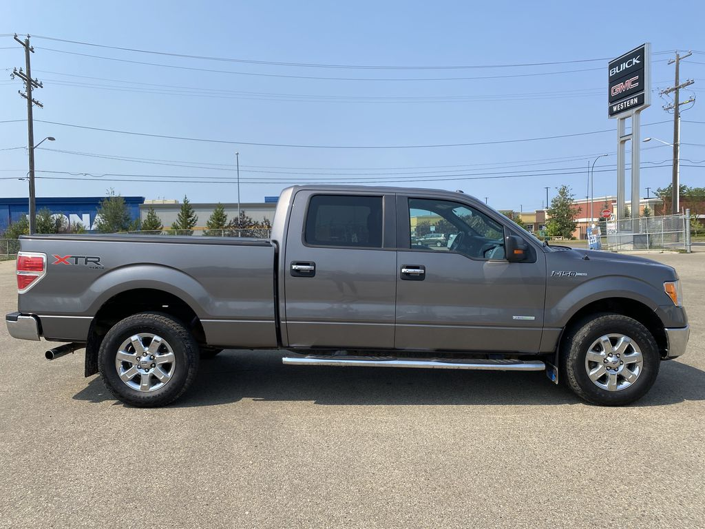 Gray[Sterling Grey Metallic] 2013 Ford F-150 Right Side Photo in Edmonton AB