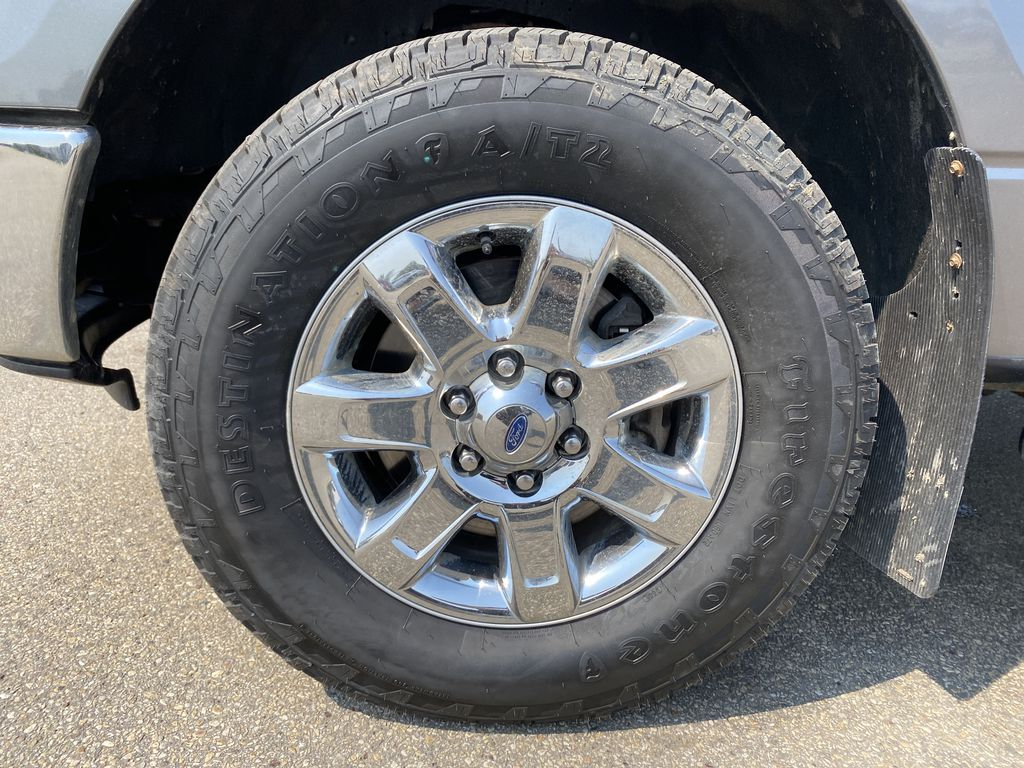 Gray[Sterling Grey Metallic] 2013 Ford F-150 Left Front Rim and Tire Photo in Edmonton AB
