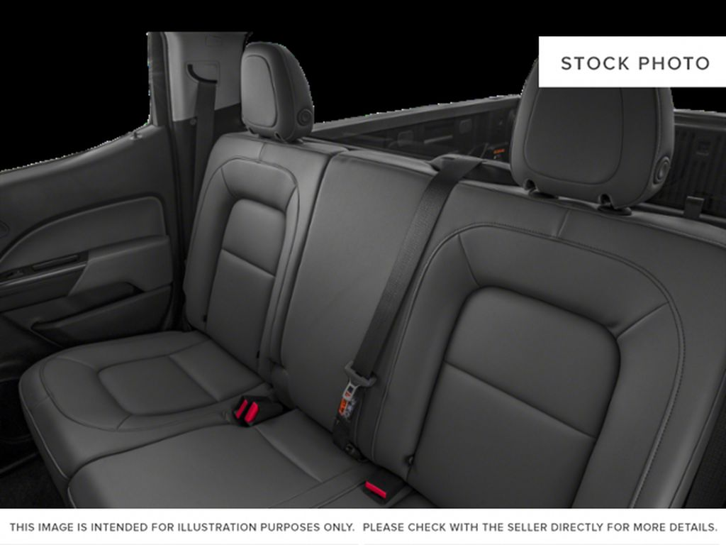 Silver[Silver Ice Metallic] 2019 Chevrolet Colorado Left Side Rear Seat  Photo in Fort Macleod AB