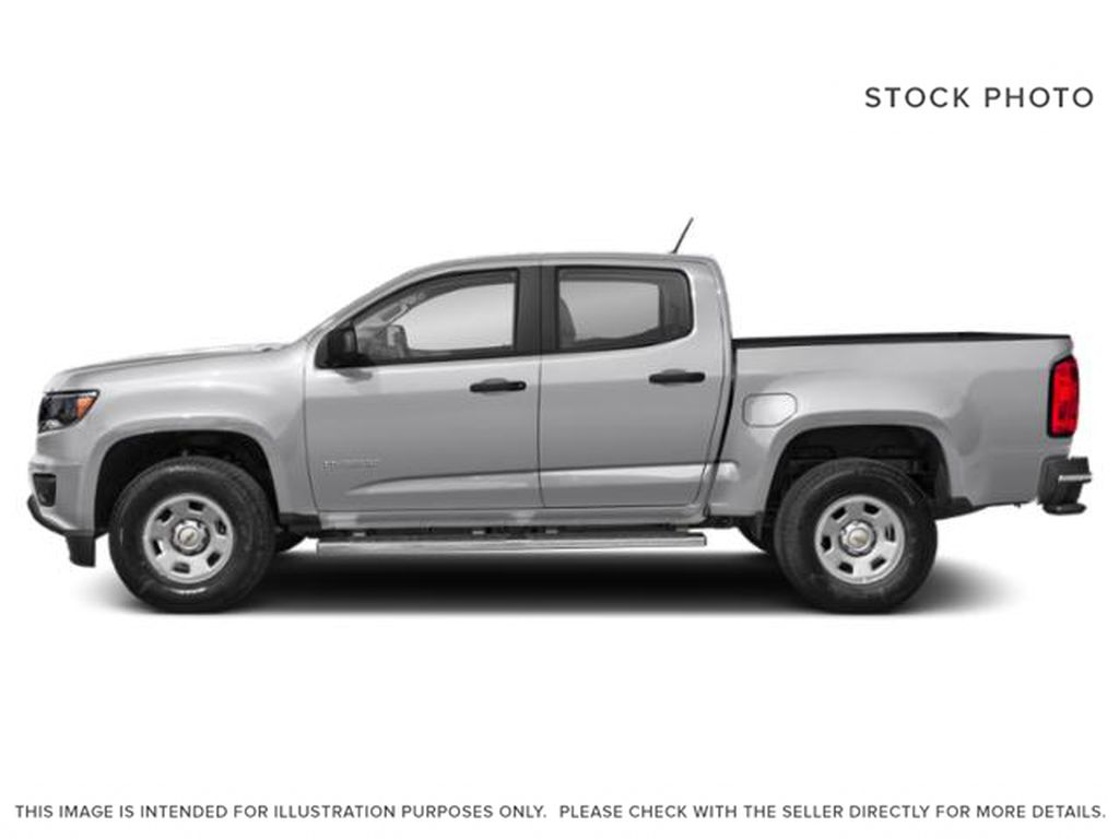 Silver[Silver Ice Metallic] 2019 Chevrolet Colorado Left Side Photo in Fort Macleod AB