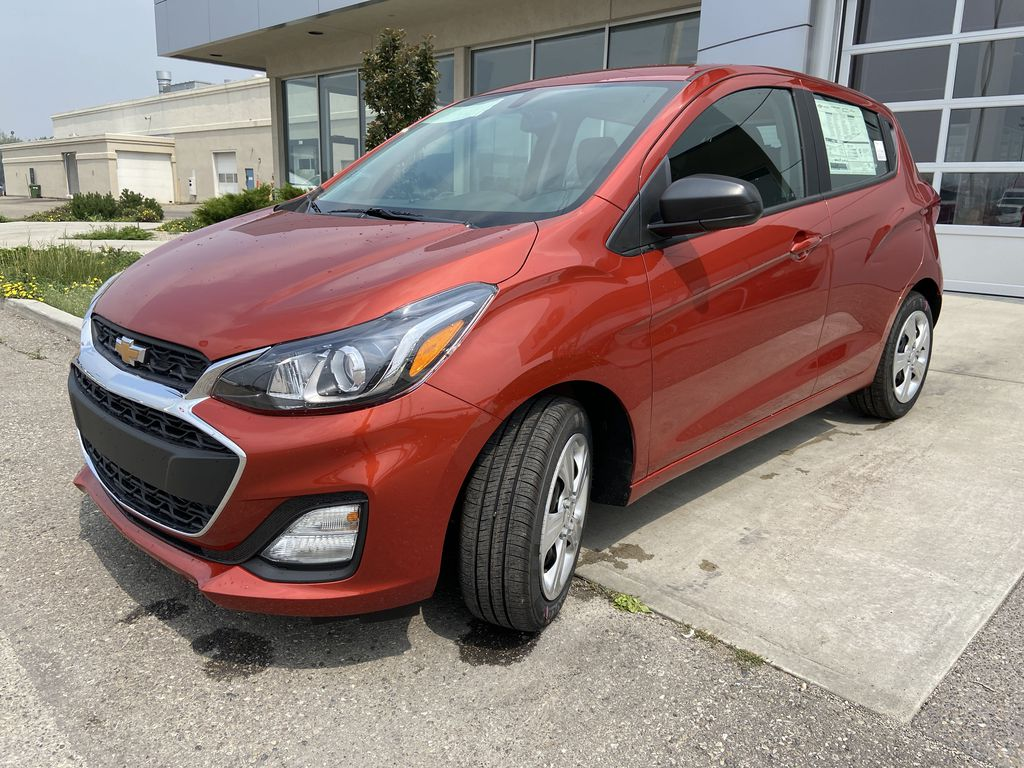 Orange[Cayenne Orange] 2021 Chevrolet Spark LS Left Front Head Light / Bumper and Grill in Calgary AB