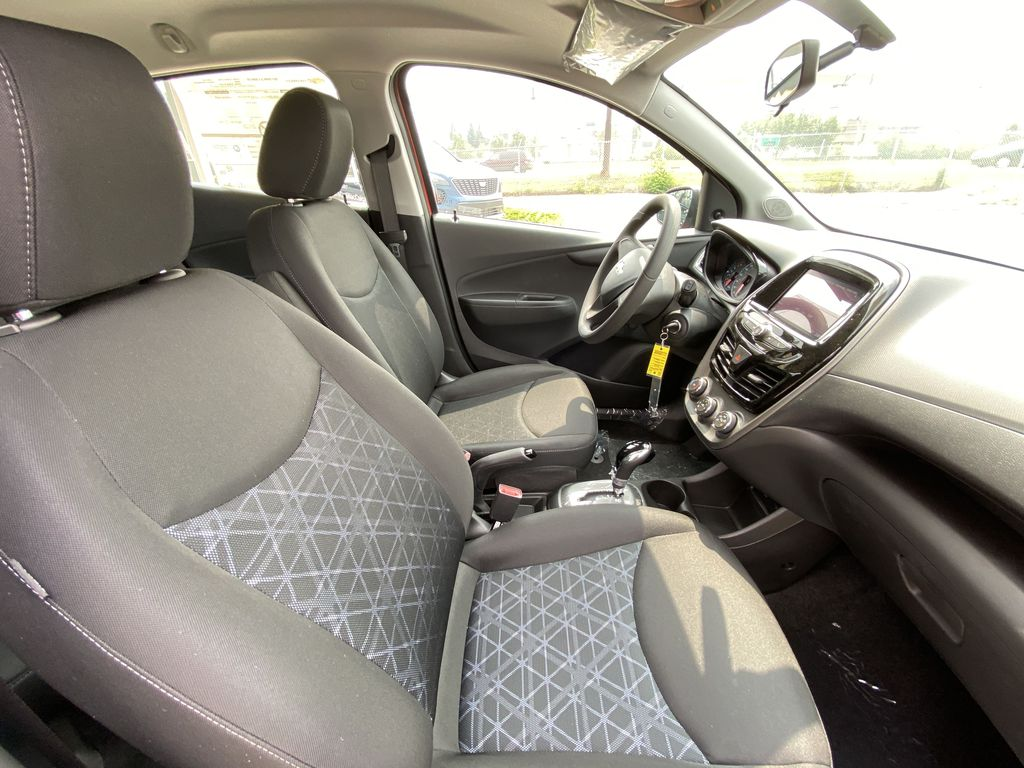 Orange[Cayenne Orange] 2021 Chevrolet Spark LS Right Side Front Seat  Photo in Calgary AB
