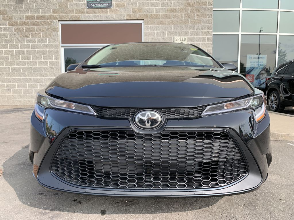 Black[Black Sand Pearl] 2021 Toyota Corolla LE Standard Package BPRBLC AM Left Side Photo in Brampton ON