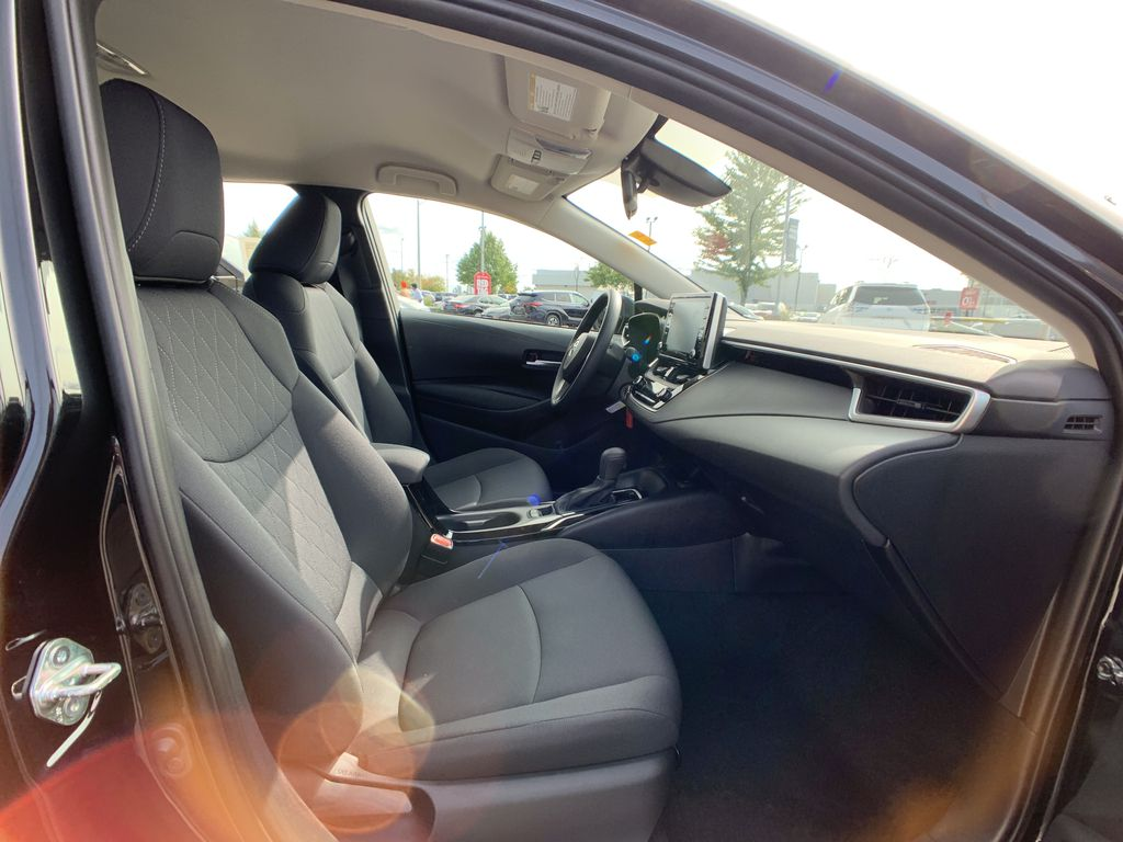 Black[Black Sand Pearl] 2021 Toyota Corolla LE Standard Package BPRBLC AM Right Side Rear Seat  Photo in Brampton ON