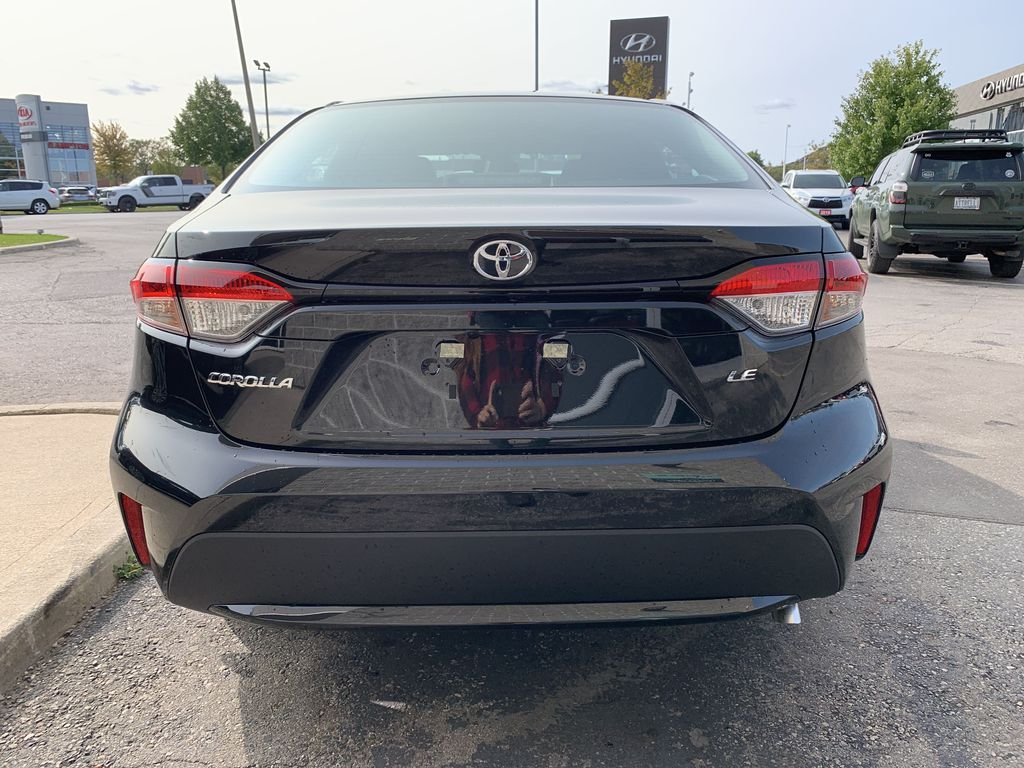 Black[Black Sand Pearl] 2021 Toyota Corolla LE Standard Package BPRBLC AM Left Front Interior Photo in Brampton ON