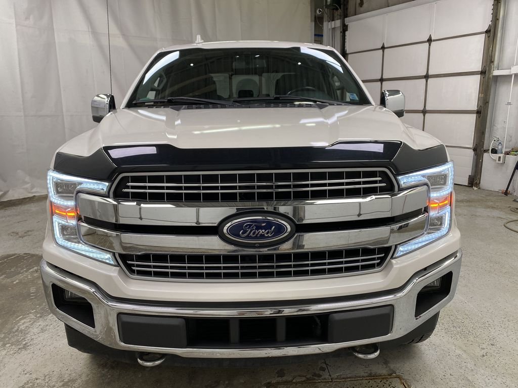 White[Oxford White] 2018 Ford F-150 Front Vehicle Photo in Dartmouth NS